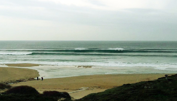 Autumn surfing Portugal