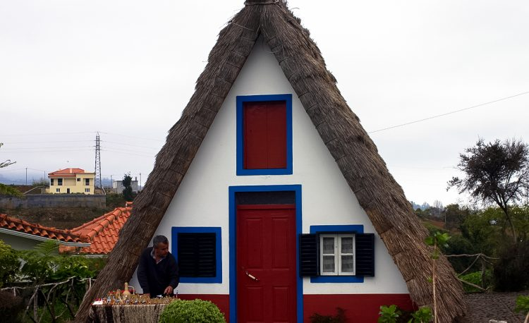 Madeira typical houses