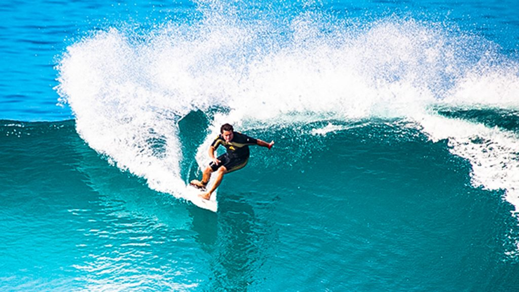 Surf spot Jardim do Mar