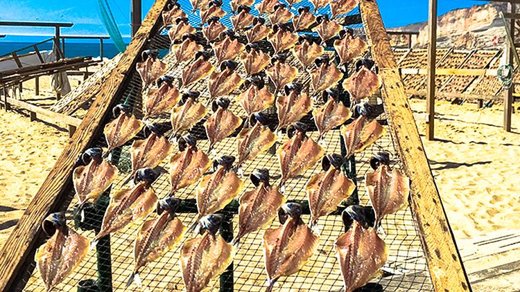 Nazaré dry fish