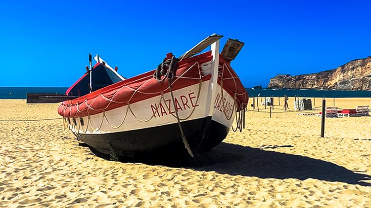 Nazaré fishing boat